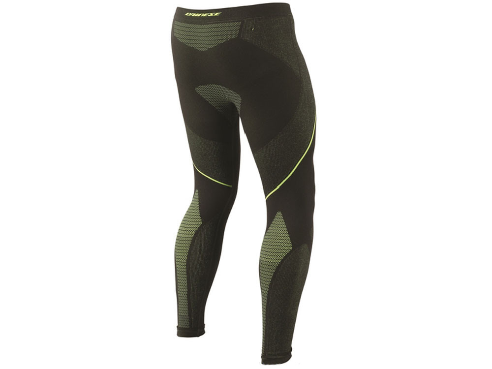Dainese D-Core Dry Windstopper Pants Lady (black/yellow)