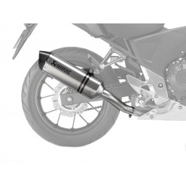 Honda Akrapovic Sport Exhaust CBR 500 R (PC44)