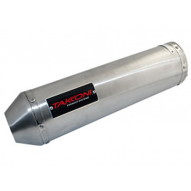 TAKKONI Motorcycle Silencer Muffler Hyosung GT 125/250 Comet (Naked)
