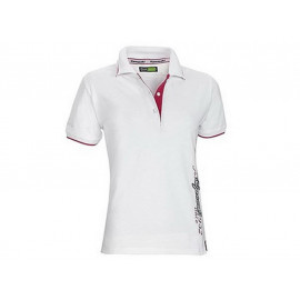Kawasaki Speed Polo Shirt Lady (white)