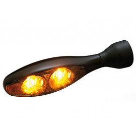 Kellermann Micro 1000 LED Motorcycle Turn Signal Dark LED