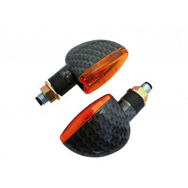 Shin Yo Arrow Short Motorcycle Turn Signal Set (carbonlook)