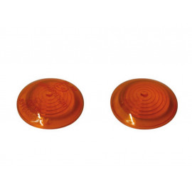 P&W Glasses (Pair) for Bull's-Eye Turn Signals (yellow)