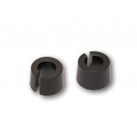 Highsider Alu Conical Spacer Set for Turn Signal with M8 thread (black)