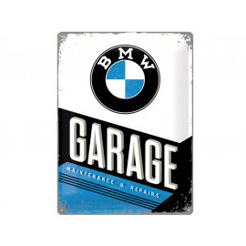 Nostalgic Arts BMW Garage Metal Sign (30x40cm)