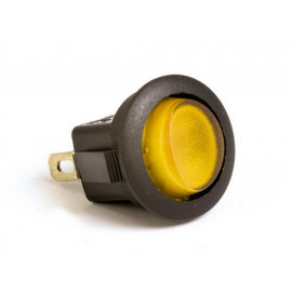P&W Switch On/Off for clamping with Light (yellow)