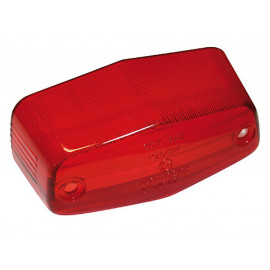 P&W Glass for Lucas Rear Light small (red)