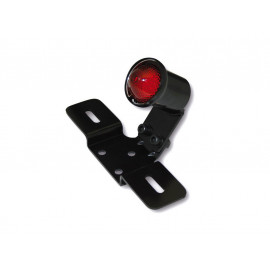 Shin Yo OldSchool TYP3 LED Motorcycle Rear Light (black) red Glass