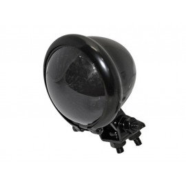 Shin Yo Bates-Style LED Motorcycle Rear Light (black) dark Glass