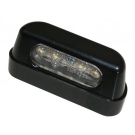 Shin Yo LED License Plate Light (black)