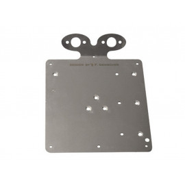 P&W LicensePlate Holder (200mm) for 2x PW255-702