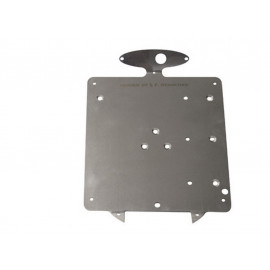 P&W LicensePlate Holder (200mm) for PW255-999