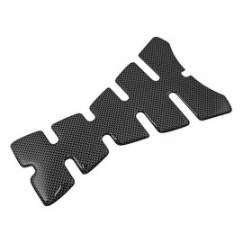 P&W Skull Tank Pad (carbon - large)