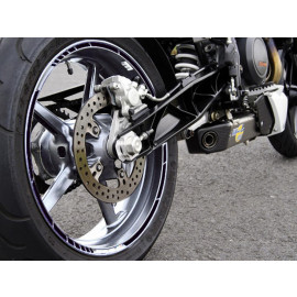 P&W GP-Style Rim Sticker (black)