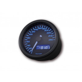Daytona Velona Digital Speedometer (black) untill 260 km/h