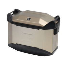 Hepco & Becker XCEED 38 Motorcycle Side Pannier (titan / right)