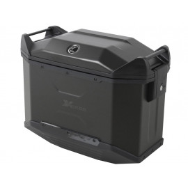 Hepco & Becker XCEED 38 Motorcycle Side Pannier (black / left)