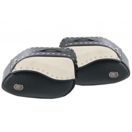 Hepco & Becker Ivory C-Bow Motorcycle Saddle Bags