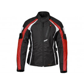 Germot Messina II Motorcycle Jacket Lady (black/red/white)