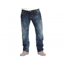 rokker Violator Motorcycle Jeans Men incl. T-Shirt (blue)