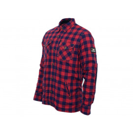 Bores Lumber Jack Kevlar Long Sleeve Shirt Men (red/black)