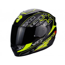Scorpion Exo 1200 Air Solis Full Face Helmet (black/yellow)