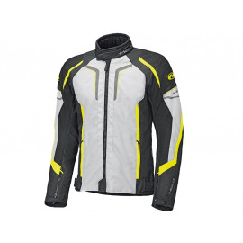 Held Smoke Motorcycle Jacket (grey / neonyellow)