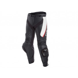 Dainese Delta 3 Motorcycle Pants (black / white / red)