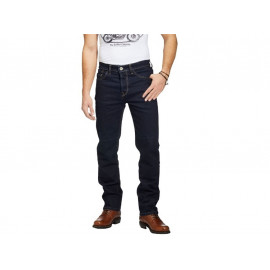 Rokker Raw Straight Motorcycle Pants (darkblue)
