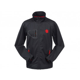 Suzuki Team Black Softshell Jacket Unisex (black)