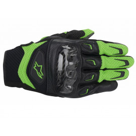 Alpinestars S-MX 2 Air Carbon Motorcycle Gloves (black/green)