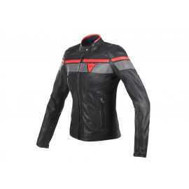 Dainese Blackjack Motorcycle Jacket Lady (black/red)