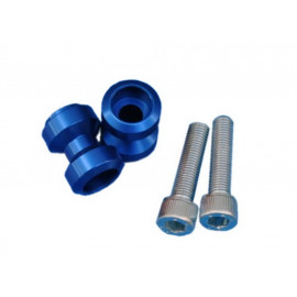 MP Bobbins Set Aluminium (blue) M10x125