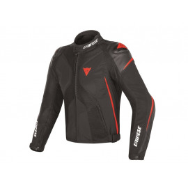 Dainese Super Ride D-Dry Motorcycle Jacket Men (black/red)