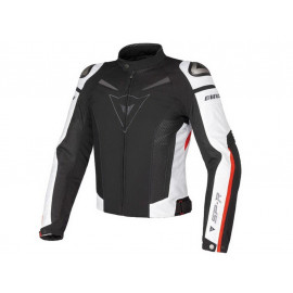 Dainese G. Super Speed Tex Motorcycle Jacket Men (black/white)