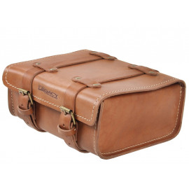 Hepco & Becker Legacy Leather Rear Bag (light brown)