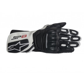 Alpinestars Stella SP-8 V2 Motorcycle Gloves Women (black / white)