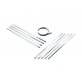 Highway Hawk Straps Stainless Steel (10 pieces)