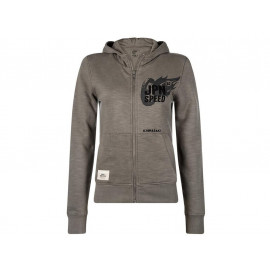 Kawasaki JPN Speed Hooded Sweatshirt Lady (grey)