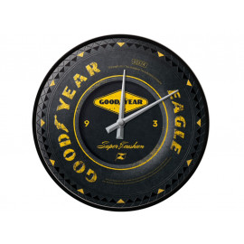 Nostalgic Arts Goodyear Wheel Wall Clock