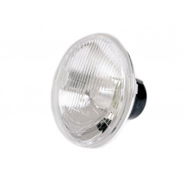 P&W H4-Headlight Insert 7 Inch (embossed Glass) with Parking Light