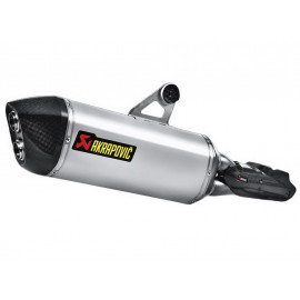Akrapovic Slip-On Exhaust BMW R1200GS / R1200GS Adventure (2013) Titanium