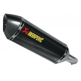 Akrapovic Slip-On Exhaust Suzuki GSR 750 / GSX-S750 (2011) Carbon