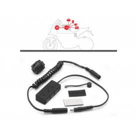 GIVI Power USB HUB 12V with Mount material
