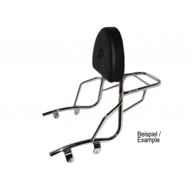 Hepco & Becker Sissy Bar with Rack Suzuki GZ 125/250 Marauder