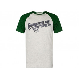 Kawasaki Engineered for Speed T-Shirt Men (grey/green)