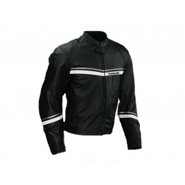Kawasaki Stripes Motorcycle Jacket Men (black)