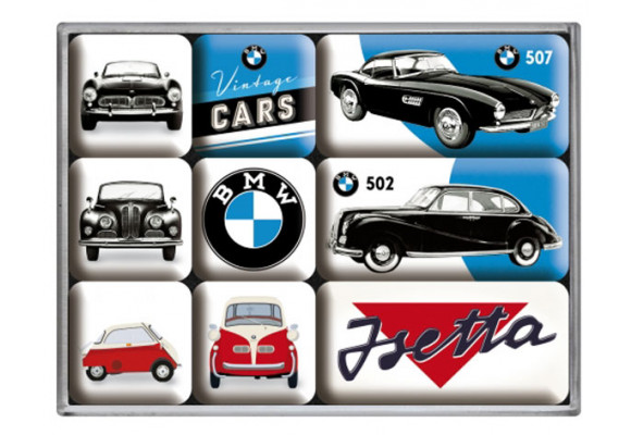BAVARIAN MOTOR WORKS top QUALITY MAGNET classic BMW